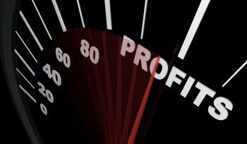 Profit meter